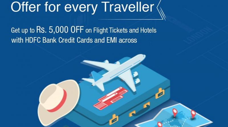 HDFC Offer For Every Traveller