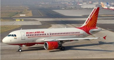 Indian airlines loss pakistan airspace