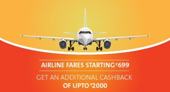 Cleartrip Airline Flash Sale! Fares starting at Rs 699