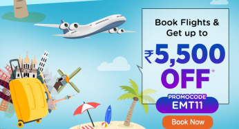 EaseMyTrip 11th Anniversary Sale Get up to 5500 Rs off