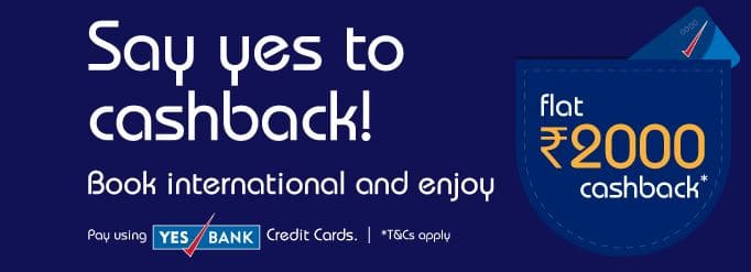 Indigo Cashbacl Offers YES BANK Offer