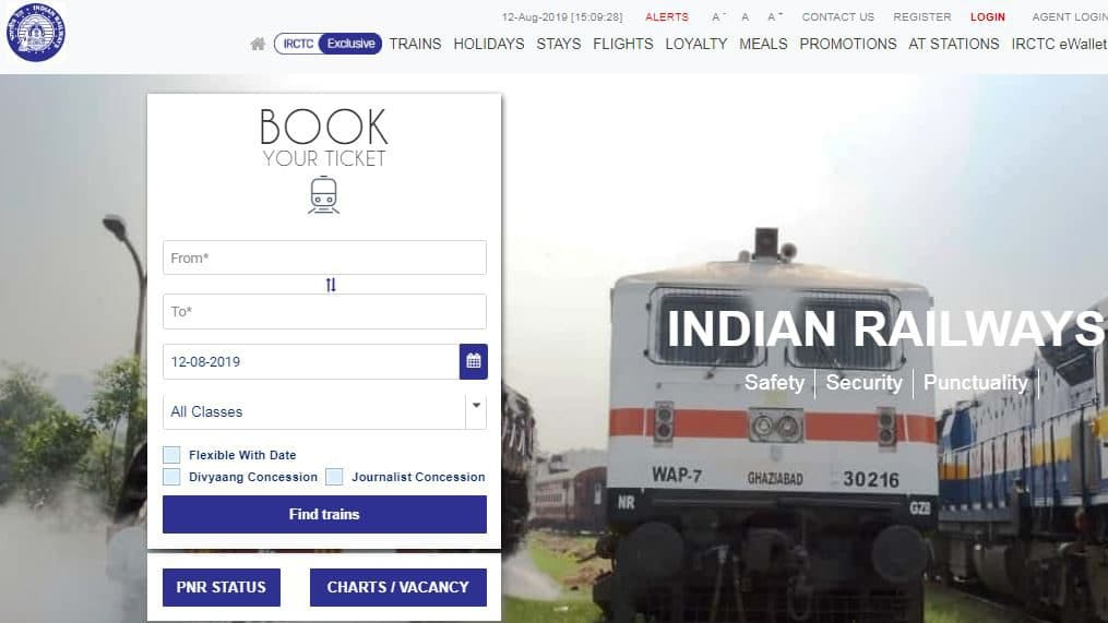 Train Tickets Becomes Costly, IRCTC to restore service charge on e-tickets.