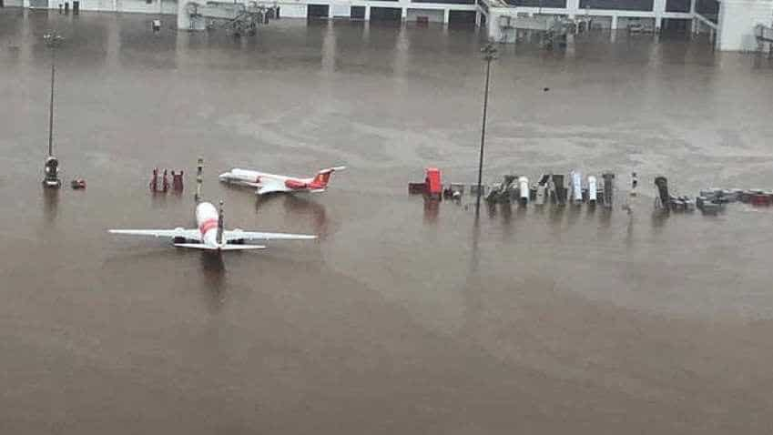 Kochi Airport suspends operations till Sunday due to flood alert