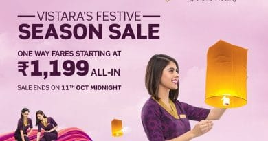 Vistara Festive Season Sale