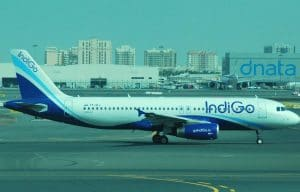 Indigo London Flight