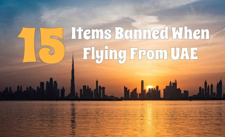 Items Banned from Dubai